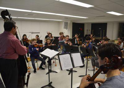 Cours orchestre Domenick